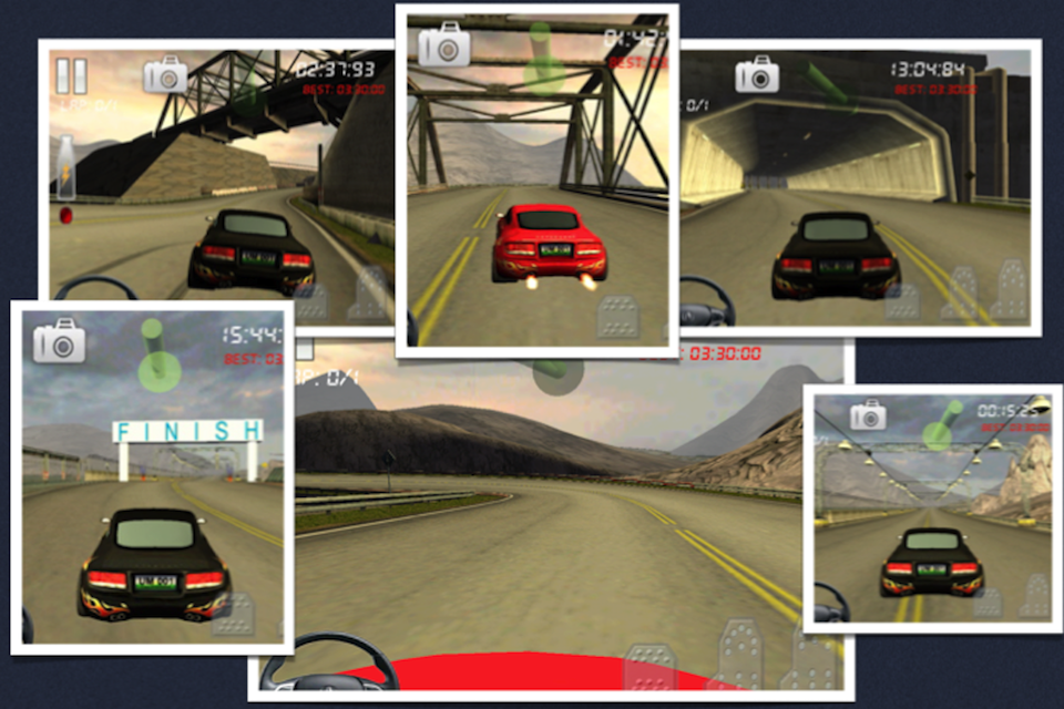 Screenshot Race Gear-Feel 3d Car Racing Fun & Drive Safe
